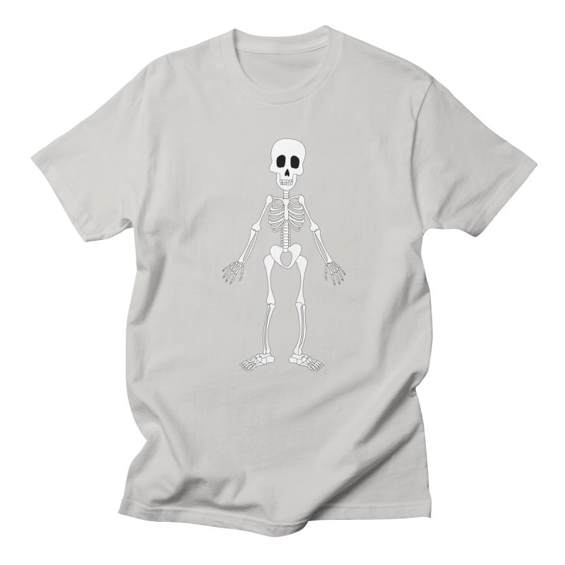 Skully Men's T-Shirt by Rebecca's Artist Shop