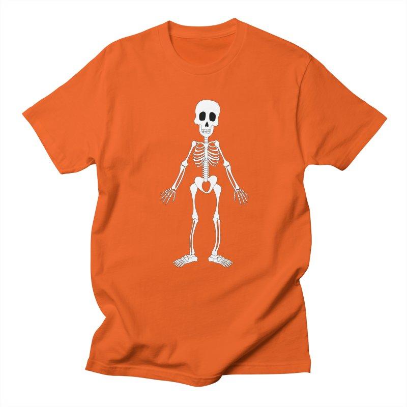 Skully Women's Unisex T-Shirt by Rebecca's Artist Shop