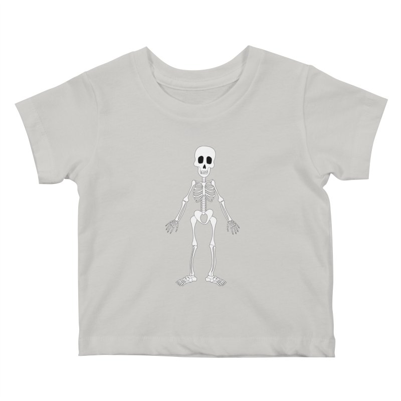 Skully Kids Baby T-Shirt by Rebecca's Artist Shop