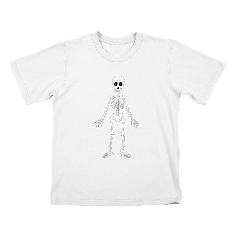 Skully Kids T-shirt by Rebecca's Artist Shop