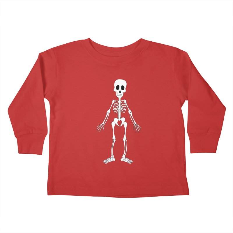 Skully Kids Toddler Longsleeve T-Shirt by Rebecca's Artist Shop