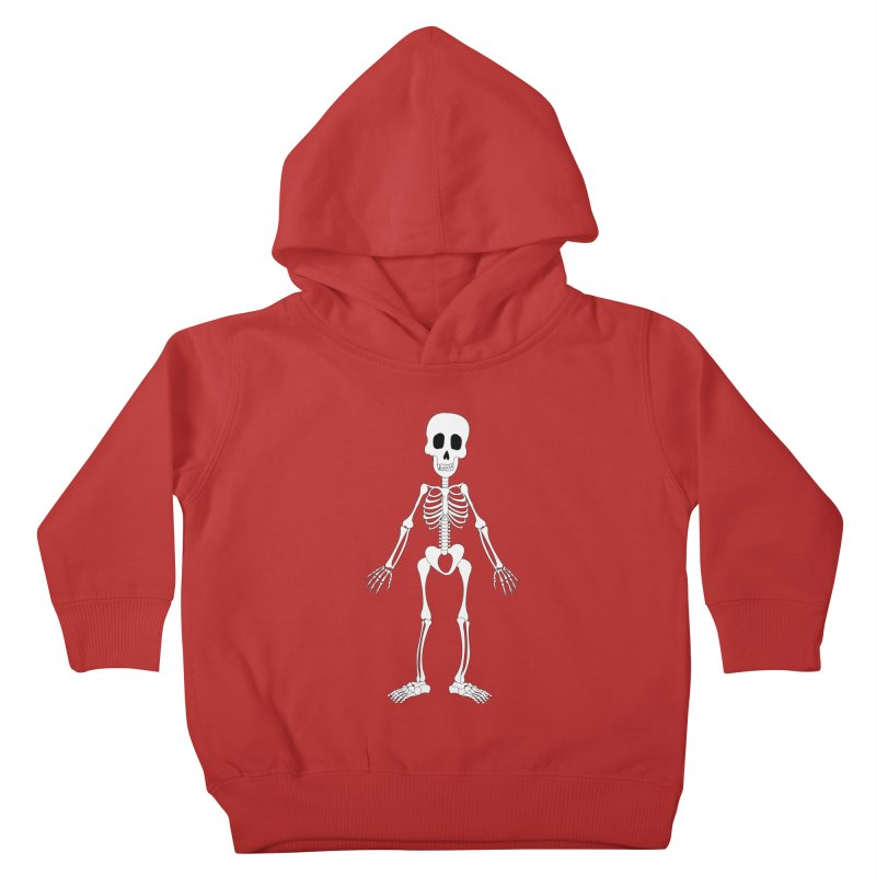 Skully Kids Toddler Pullover Hoody by Rebecca's Artist Shop