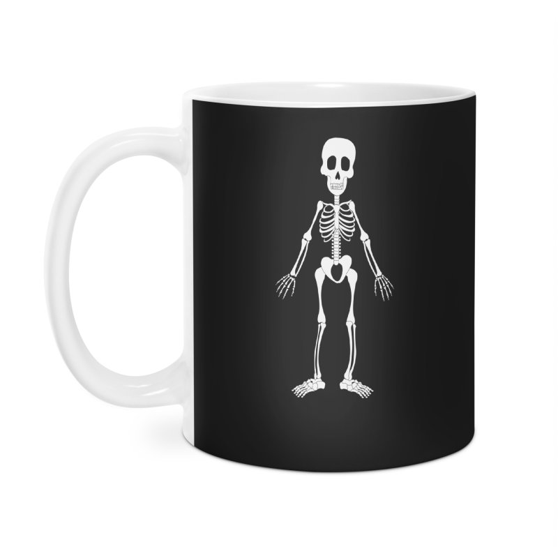 Skully Accessories Mug by Rebecca's Artist Shop