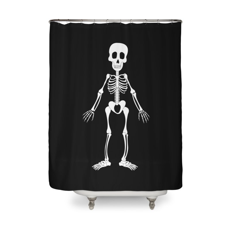 Skully Home Shower Curtain by Rebecca's Artist Shop