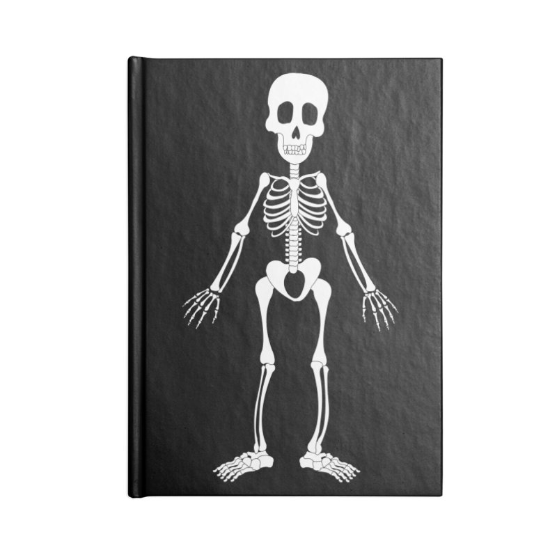 Skully Accessories Notebook by Rebecca's Artist Shop