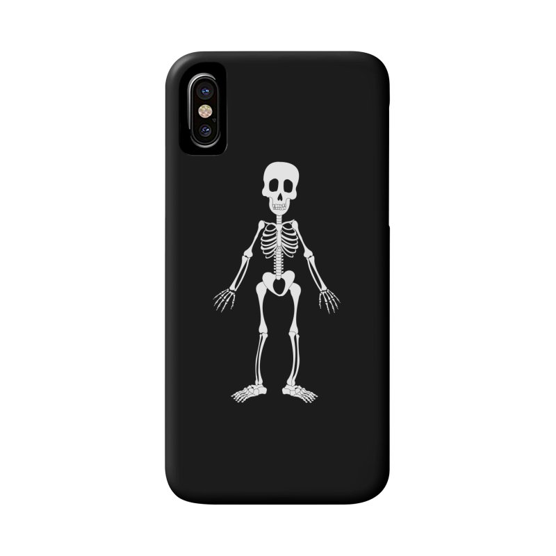 Skully Accessories Phone Case by Rebecca's Artist Shop