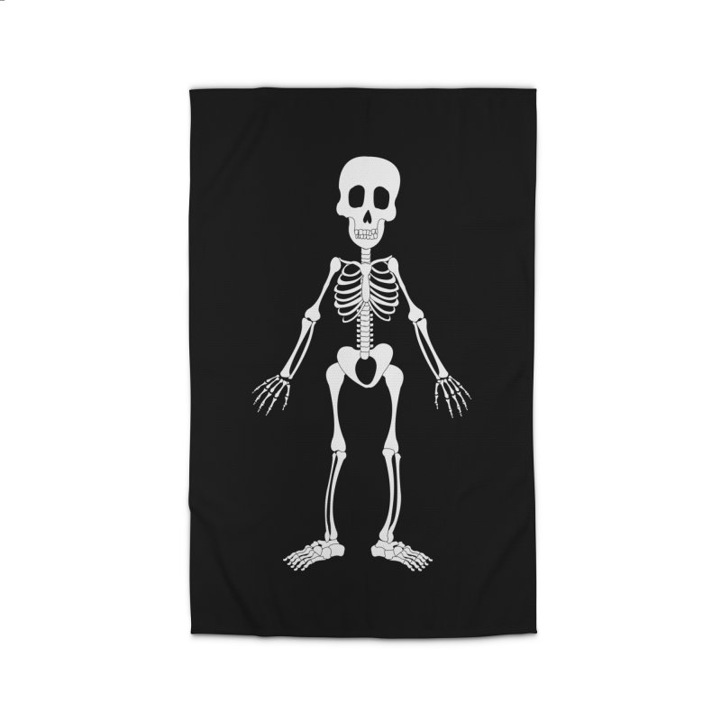 Skully Home Rug by Rebecca's Artist Shop
