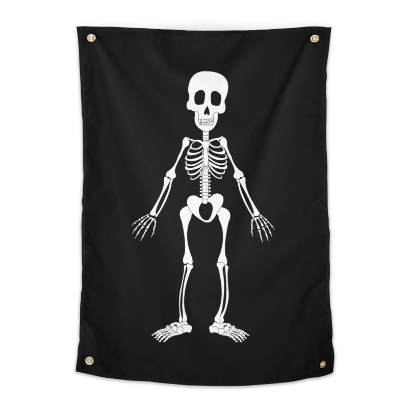 Skully Home Tapestry by Rebecca's Artist Shop