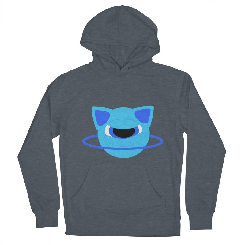 Neptune Cat Men's Pullover Hoody by Rebecca's Artist Shop