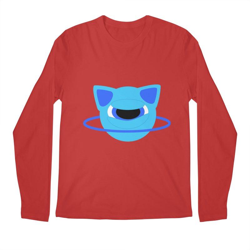 Neptune Cat Men's Longsleeve T-Shirt by Rebecca's Artist Shop