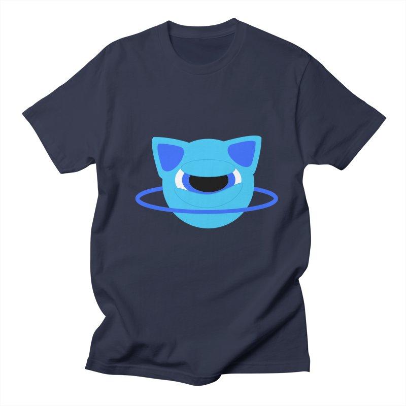 Neptune Cat Men's T-shirt by Rebecca's Artist Shop