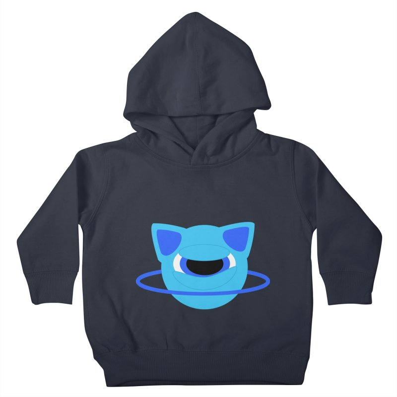 Neptune Cat Kids Toddler Pullover Hoody by Rebecca's Artist Shop