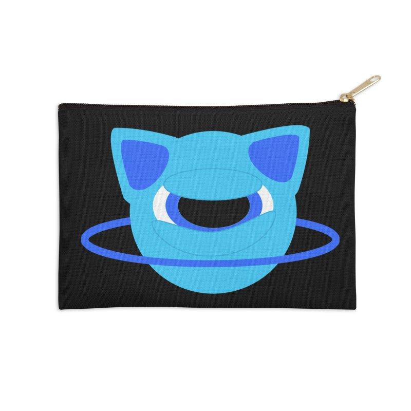 Neptune Cat Accessories Zip Pouch by Rebecca's Artist Shop