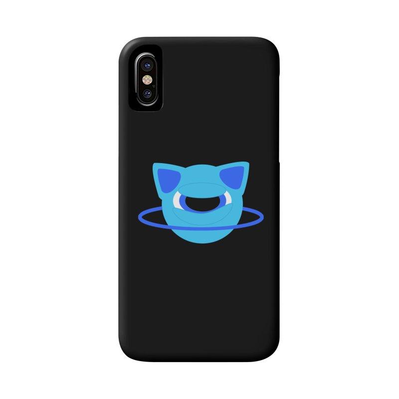 Neptune Cat Accessories Phone Case by Rebecca's Artist Shop