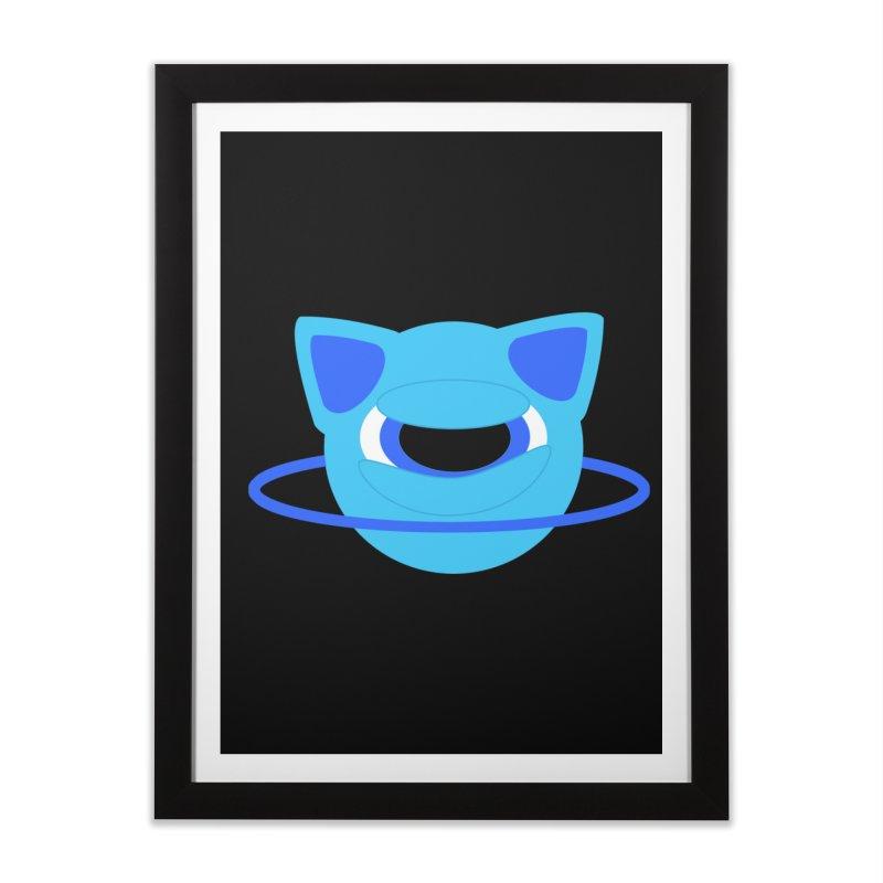 Neptune Cat Home Framed Fine Art Print by Rebecca's Artist Shop