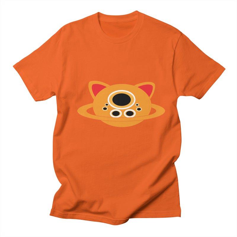 Saturn Cat Design  Women's Unisex T-Shirt by Rebecca's Artist Shop