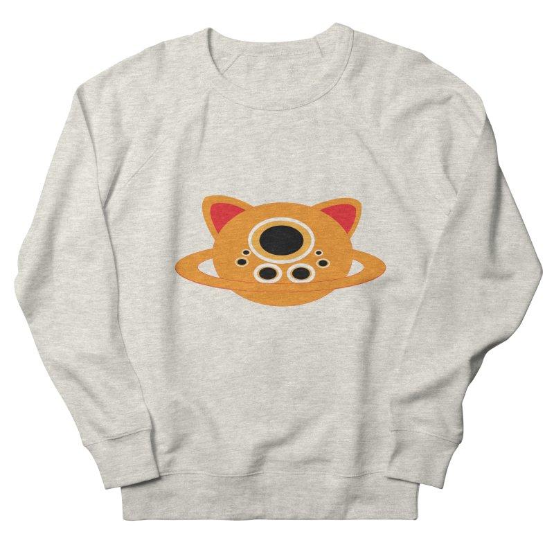 Saturn Cat Design  Men's Sweatshirt by Rebecca's Artist Shop