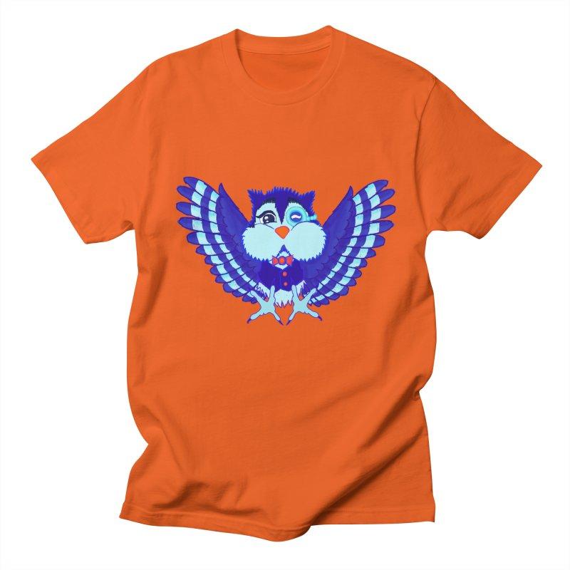 Owl Redesign  Women's Unisex T-Shirt by Rebecca's Artist Shop