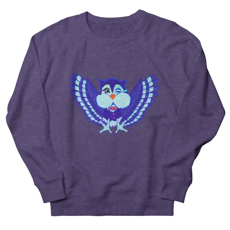 Owl Redesign  Women's Sweatshirt by Rebecca's Artist Shop