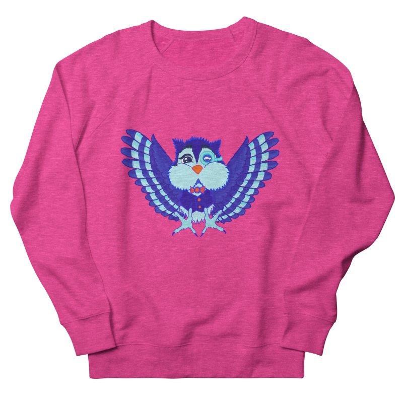 Owl Redesign  Men's Sweatshirt by Rebecca's Artist Shop