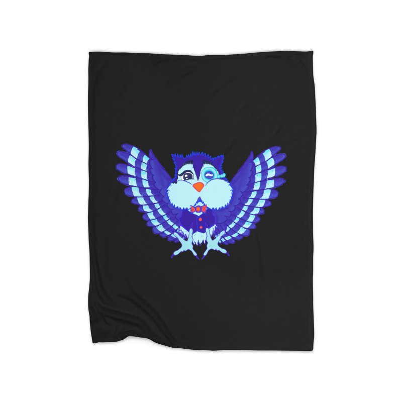 Owl Redesign  Home Blanket by Rebecca's Artist Shop