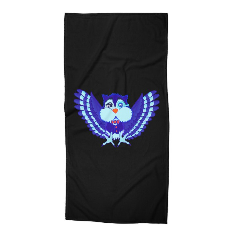 Owl Redesign  Accessories Beach Towel by Rebecca's Artist Shop