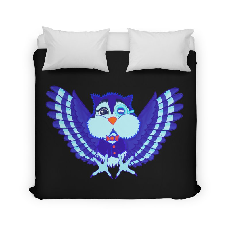 Owl Redesign  Home Duvet by Rebecca's Artist Shop