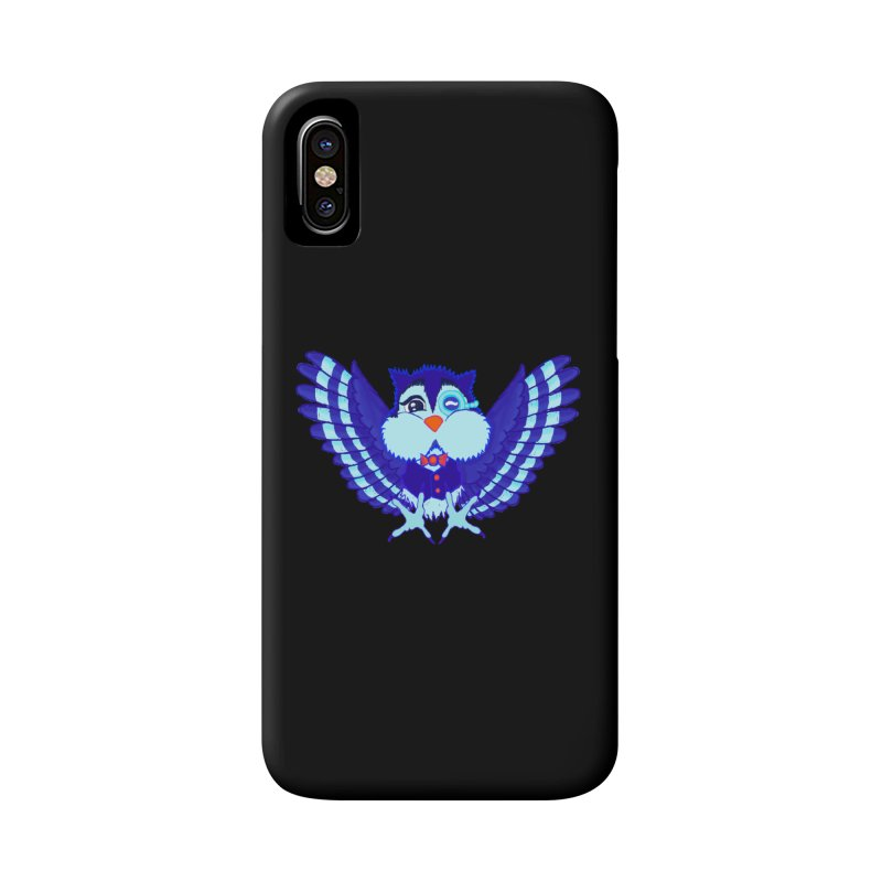 Owl Redesign  Accessories Phone Case by Rebecca's Artist Shop