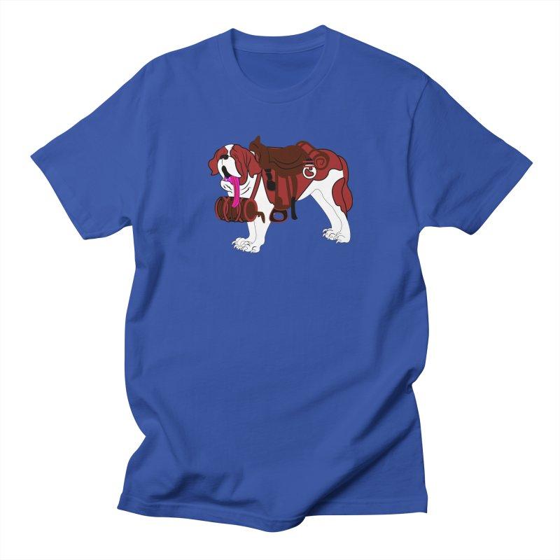 Saint Bernard Women's Unisex T-Shirt by Rebecca's Artist Shop