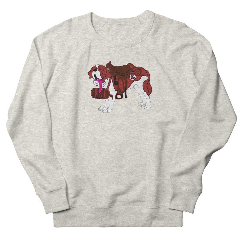 Saint Bernard Men's Sweatshirt by Rebecca's Artist Shop