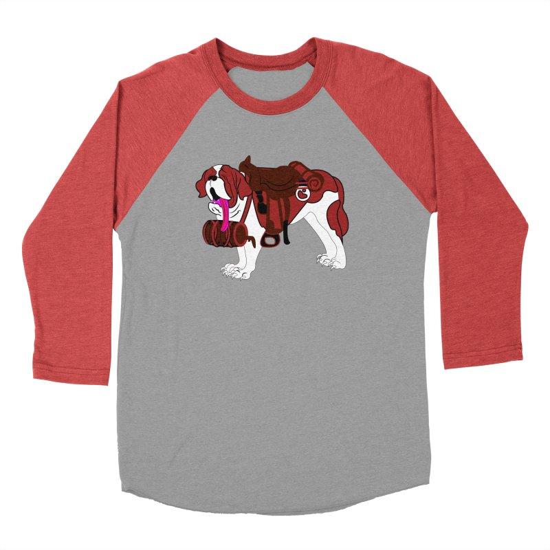 Saint Bernard Women's Baseball Triblend T-Shirt by Rebecca's Artist Shop