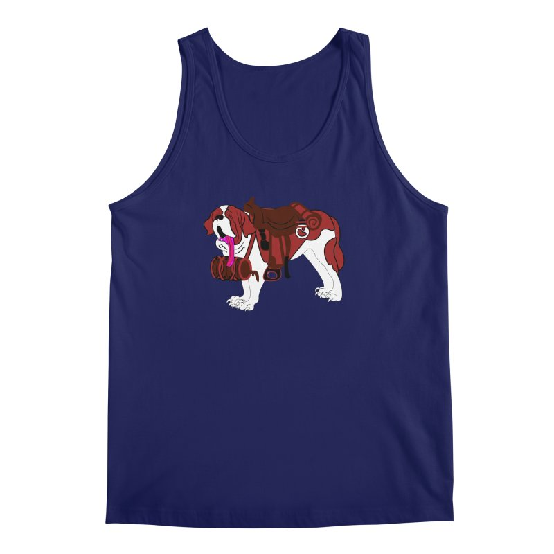 Saint Bernard Men's Tank by Rebecca's Artist Shop