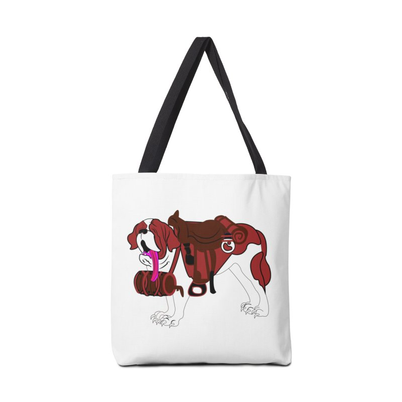 Saint Bernard Accessories Bag by Rebecca's Artist Shop