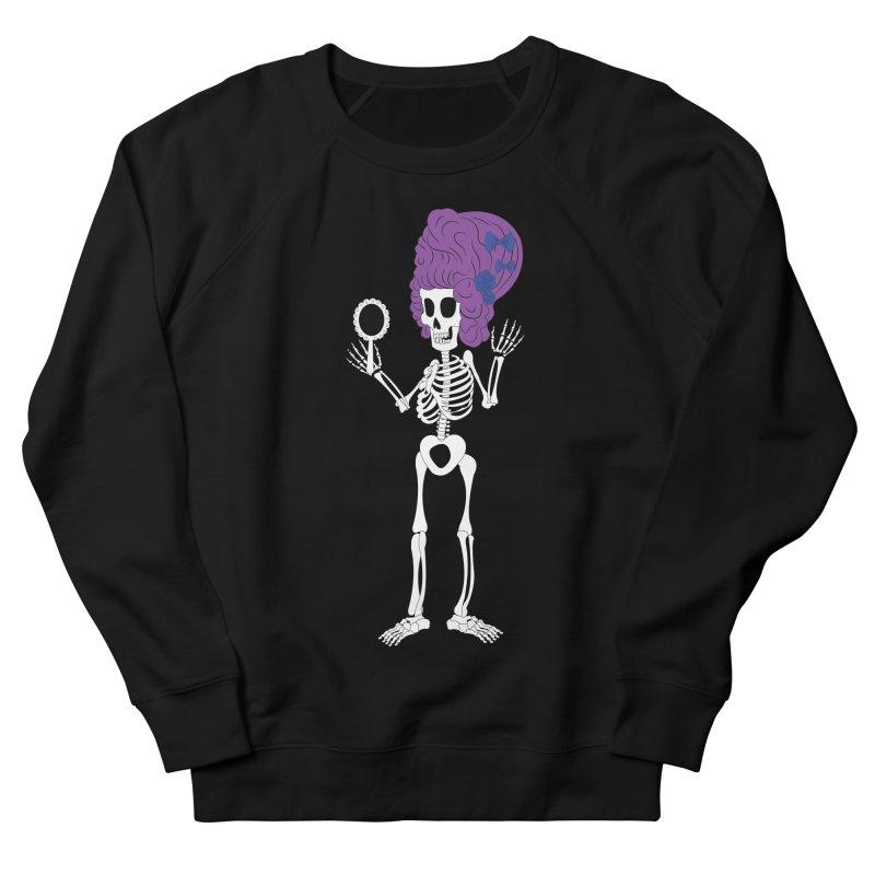 Skully in a Wig Women's Sweatshirt by Rebecca's Artist Shop