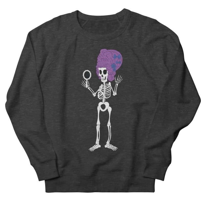 Skully in a Wig Men's Sweatshirt by Rebecca's Artist Shop