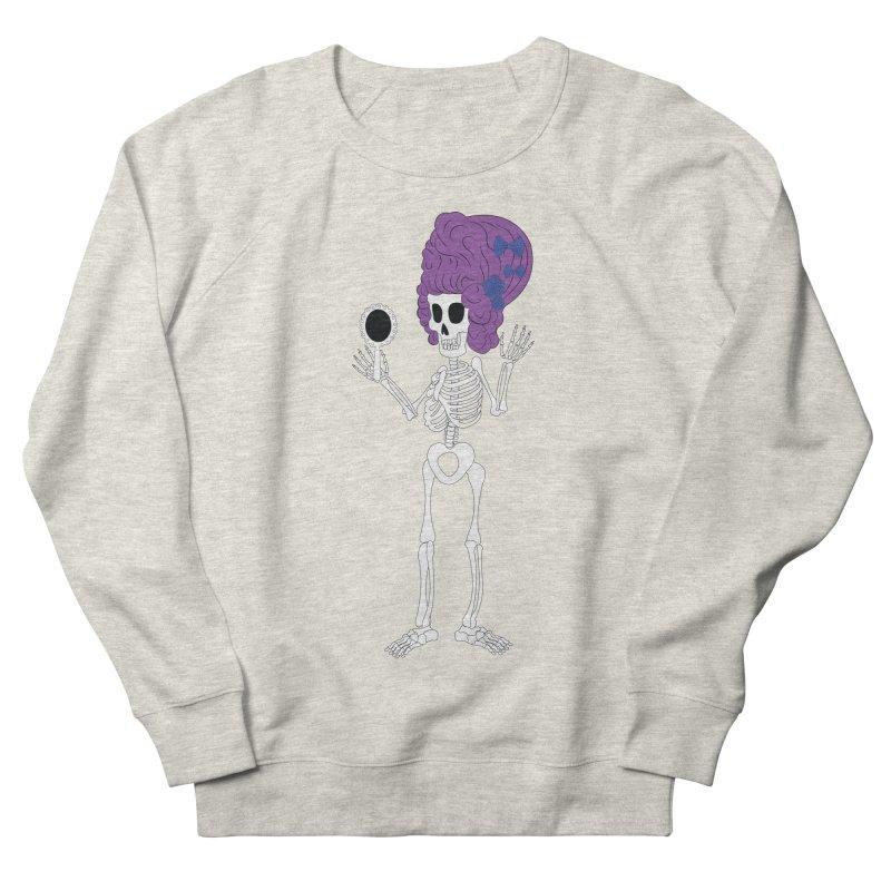 Skully in a Wig Men's Sweatshirt by Rebecca's Artist Shop