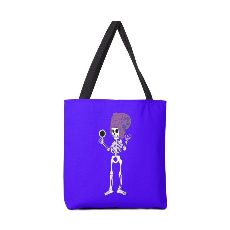 Skully in a Wig Accessories Bag by Rebecca's Artist Shop
