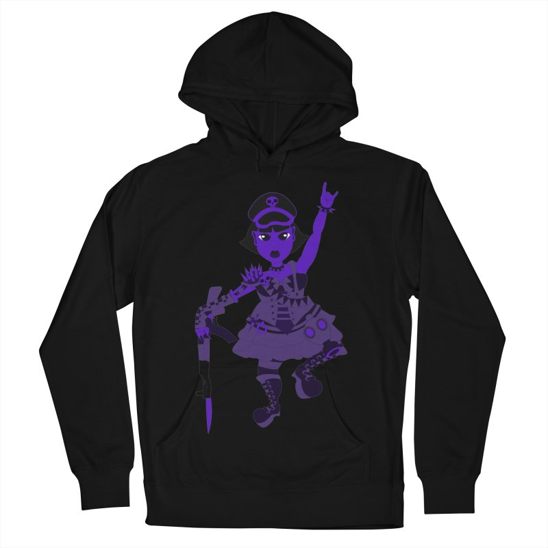 Post Apocalyptic Girl Women's Pullover Hoody by Rebecca's Artist Shop