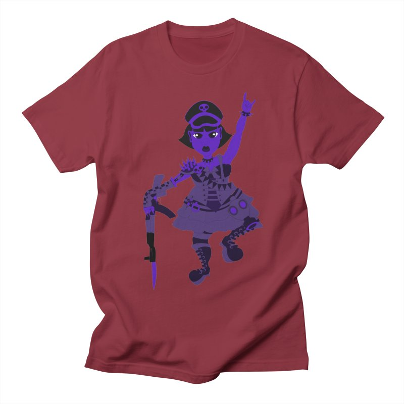 Post Apocalyptic Girl Men's T-Shirt by Rebecca's Artist Shop