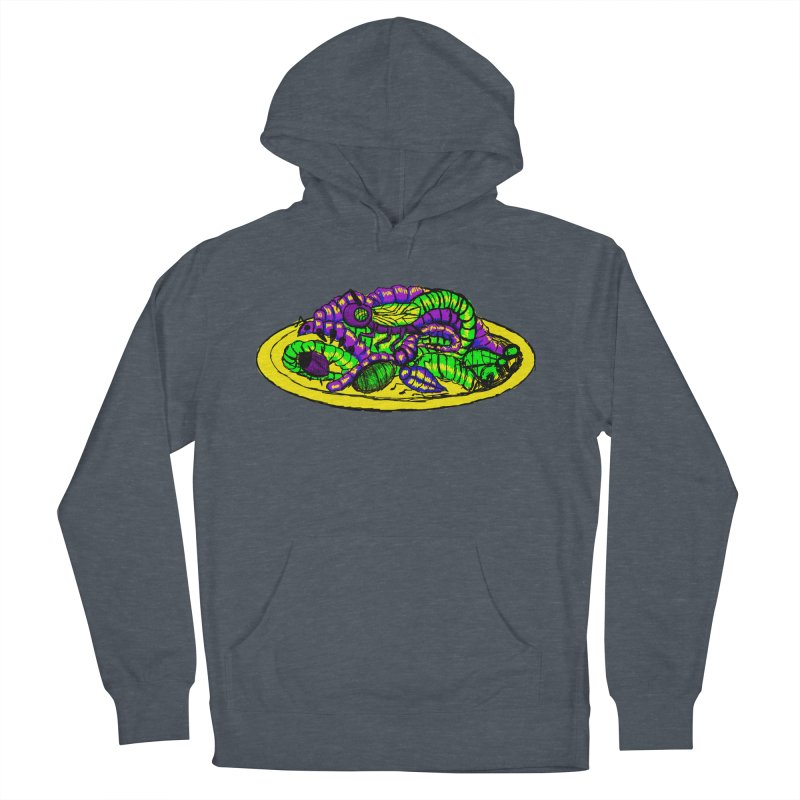 Mimi's Monsters-Plate O' Bugs Women's Pullover Hoody by Rebecca's Artist Shop