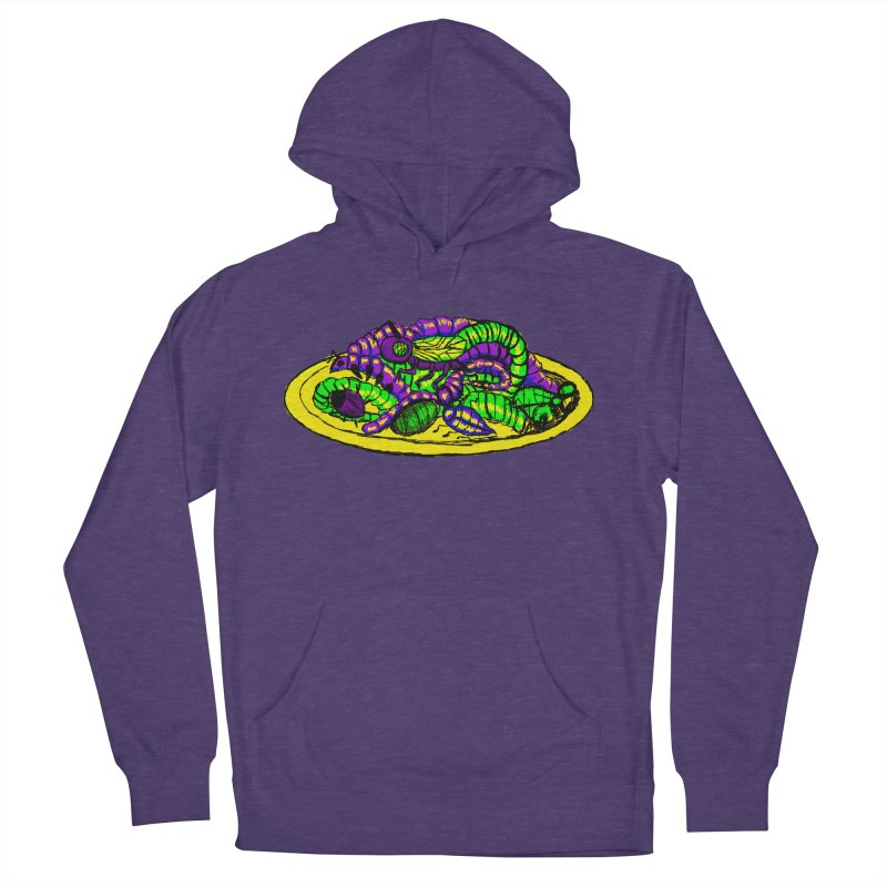 Mimi's Monsters-Plate O' Bugs Men's Pullover Hoody by Rebecca's Artist Shop