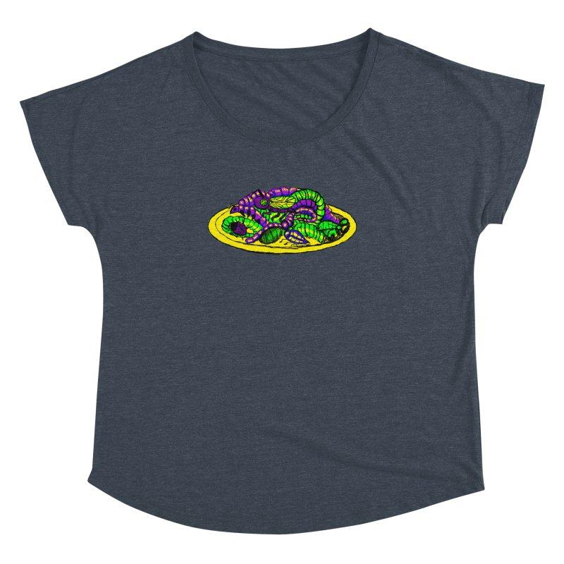 Mimi's Monsters-Plate O' Bugs Women's Dolman by Rebecca's Artist Shop