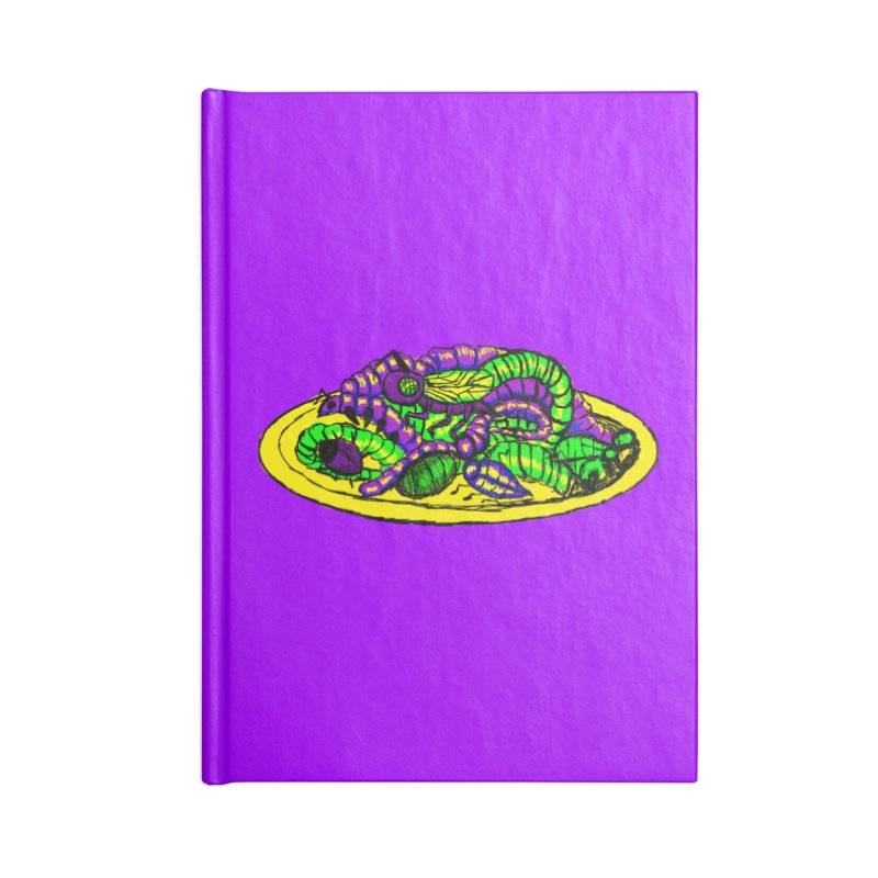 Mimi's Monsters-Plate O' Bugs Accessories Notebook by Rebecca's Artist Shop