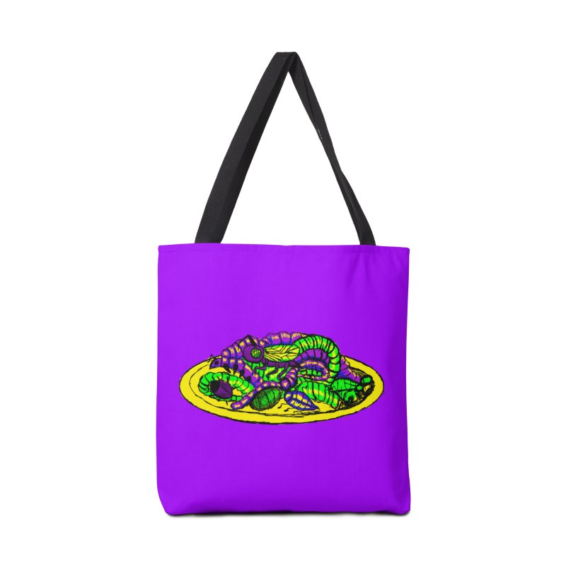 Mimi's Monsters-Plate O' Bugs Accessories Bag by Rebecca's Artist Shop