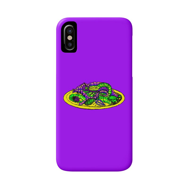 Mimi's Monsters-Plate O' Bugs Accessories Phone Case by Rebecca's Artist Shop