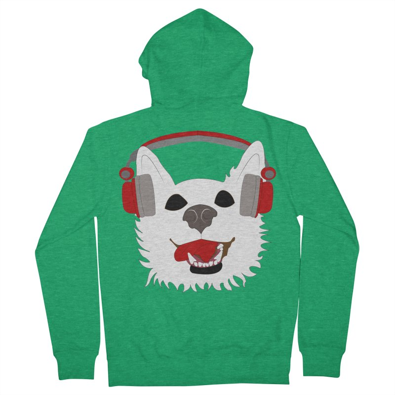 Where Wolf Party Logo Women's Zip-Up Hoody by Rebecca's Artist Shop