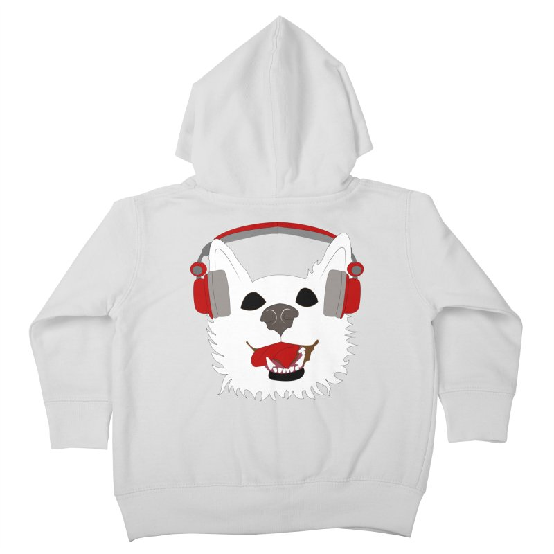 Where Wolf Party Logo Kids Toddler Zip-Up Hoody by Rebecca's Artist Shop