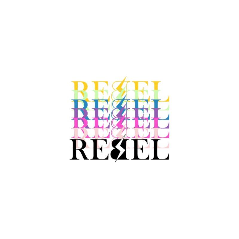 Rainbow Rebel Men's T-Shirt by Rebel Hair Studio Merch