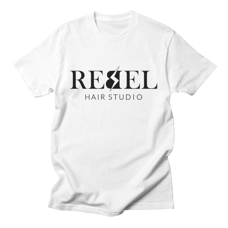 Rebel Hair Studio Black Men's T-Shirt by Rebel Hair Studio Merch