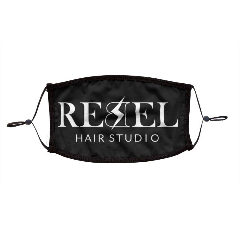 Rebel Hair Studio White Accessories Face Mask by Rebel Hair Studio Merch